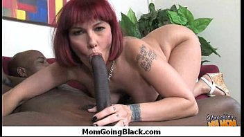 Monster black cock bangs my moms white pussy 4