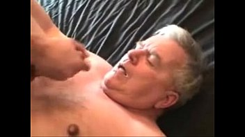 young asian cum on daddy's face