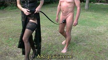 Sac cage de chasteté en BDSM