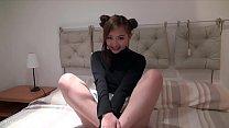 Pretty British Asian teen Harriet Sugarcookie masturbates