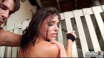 Gorgeous Adriana gets ass fucked in hardcore doggystyle by Manuel
