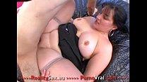 Fat slut fucked ! Grosse salope bien enculee !! French amateur