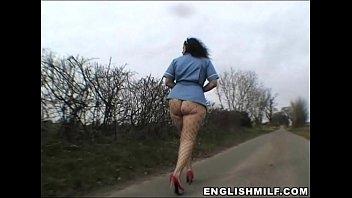British pawg Daniella English milf big ass walk