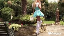 Naughty Alice Bangs Everyone In Wonderland - Stacy Saran