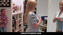 FamilyStrokes - Milf (Alexis Fawx) Hardcore Fucked By StepSon