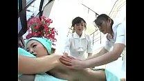 Japanese Massage Lesbian Threesome