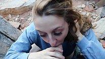Road Trip Girlfriend Flashing Deepthroat Blowjob Amateur - Molly Pills  - POV GFE - Natural Tits