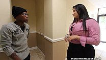 Kim Cruz Thick Latina gives BBC Blowjob in her Office