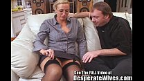 Tall Wife Gets Fucked and Spermed!