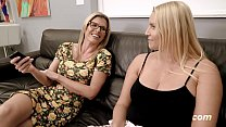 Busty Step Daughter is Seduced by Step Mom with Big Tits - Vanessa Cage