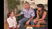 Baby Sitter gets a 18th birthday SWINGER Surprise Party
