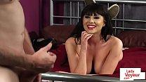 Busty british voyeur teasing and humiliating