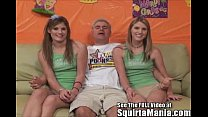 Dualing Porn Star Squirting Twin Sisters!