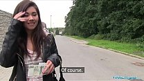 Public Agent Asian cutie fucked by a stranger for money