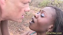 african safari outdoor fuck