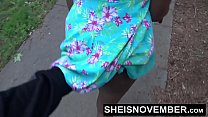 Risky Street POVBlowjob By BlackFreak Msnovember Sucking Strangers Cock For Attention on Sheisnovember