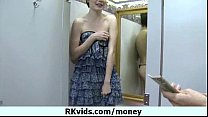 Girl getting payed for nudity 9