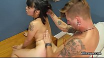 Kinky nympho is taken in anus asylum for painful therapy
