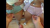 Twins Anja & Katja Threesome - FFM- Die Subjektive Kamera - Geile Zwillinge