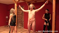 Sensual Mistresses - Flogging by Miss Courtney and Miss Flora