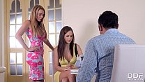Swinger couple rock a threesome with Designer Tina Kay