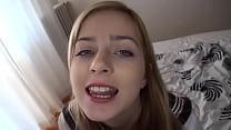 Abigaile Johnson swallow cum
