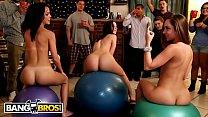 BANGBROS - Jada Stevens, Remy LaCroix & Dillion Harper Dorm Room Orgy