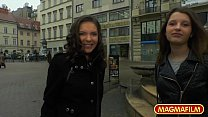 MAGMA FILM Euro Threesome with Henessy