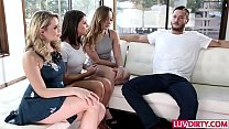 Adriana Chechik 4some with Remy LaCroix and Mia Malkova