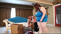 Huge Tit BBW Alyson Galen is Fucked by Stud Moving Man