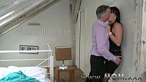 MOM Mature MILF takes charge of her man