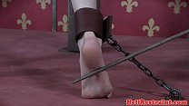 Billy Nyx caned harshly while restrained