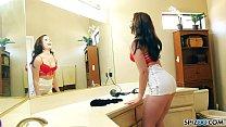 Spizoo - Big booty Jennifer Jacobs sucks and fucks a big dick