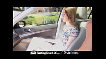 CASTINGCOUCH-X Car Foreplay With Hot Babes Compilation