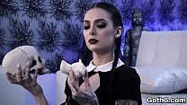 Gorgeous Gothic slut Marley Brinx is ready for some sex adventure with her horny boyfriend Markus Dupree.