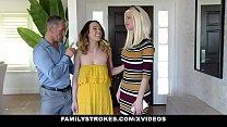 Family Strokes - Hot Teen Lets Stepdad Cum On Her Bush
