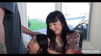 MOM shows DAUGHTER how to TREAT BF RIGHT
