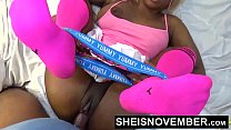 Push Your Finger Into My Nasty Asshole Daddy & Sweet Ebony Pussy Love That Shit Msnovember HD Sheisnovember