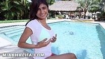 MIA KHALIFA - In A Bikini, Getting Interviewed, and Having Sex... Fuck Yeah.