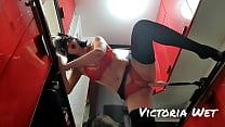 sex machine fuck Polish Victoria wet in kitchen