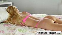 Blonde beauty Vanessa gets Preston's big dick