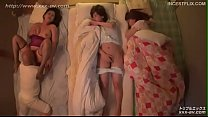 Squidpis - Uncensored, Japanese Daughters get horny watching mum getting fucked part 1.