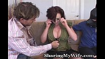 Naughty Wife With Submissive Hubby