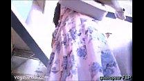 Big Ass Seen on Market on Hidden Camera