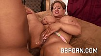 The ass of a chubby latina fucked by big black cock