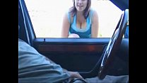 Blowjob,Handjob in the car. (Big tits follow my page Xvideos 4 life!!) | More videos with this girl - likefucker.com