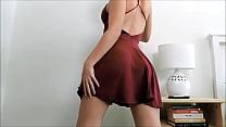 Mujer Bailando, Levantándose La Falda, ¡¡Culote!!