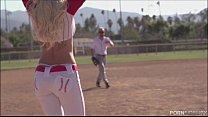 Baseball Loving Blonde Stevie Shae Loves An After Game Fuck