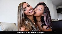 TU VENGANZA - Sassy Latinas Veronica Orozco & Adriana Betancur in lesbian vengeance sex