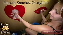 Pamela sanchez my first time sucking big cocks at amateur gloryhole swinger club. 1/3
